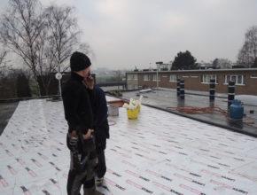 Dakwerker platte daken deurne