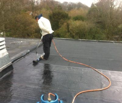 Dakwerken plat dak deurne