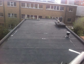 Dakwerken platte daken roofing